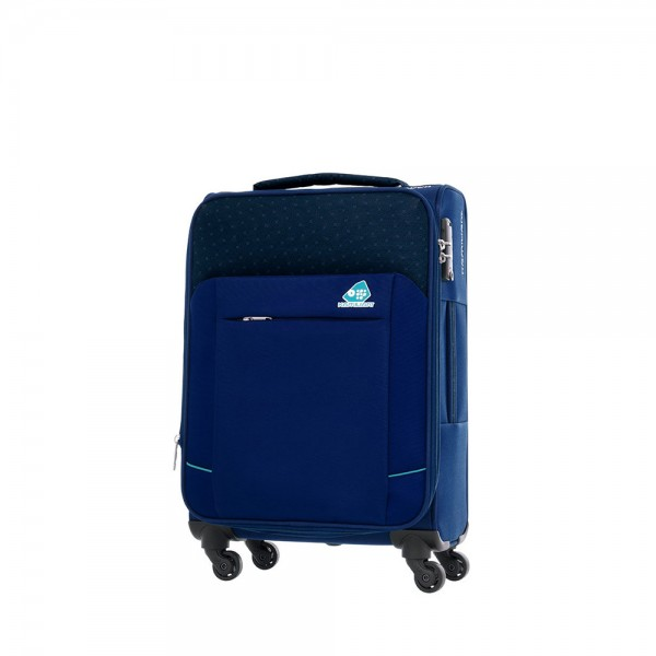 Vali vải Kamiliant DJ3*01005 Motivo TSA - Size Cabin 55/20 Exp - Màu Xanh
