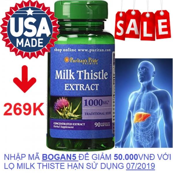Viên uống bổ gan, giải độc gan, tăng cường chức năng gan  1000mg 90 viên HSD tháng 7/2019