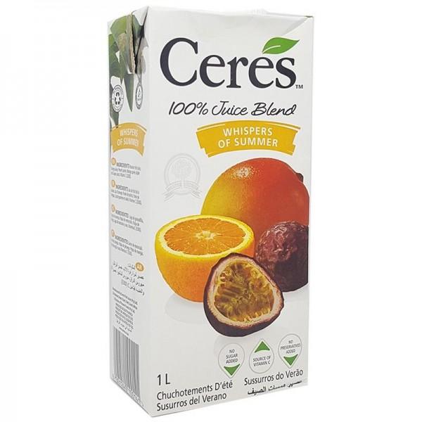 Nước ép trái cây hỗn hợp Ceres hộp 1 lít
