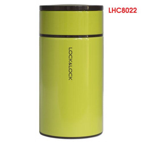 Bình giữ nhiệt Inox 304 đựng thức ăn Food Jar Lock&Lock LHC8023 1L màu xanh lá