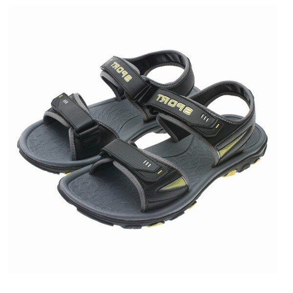 Giày Sandal Nam Biti's Cao Cấp Màu Đen DRM312000DEN (Size 38-43)