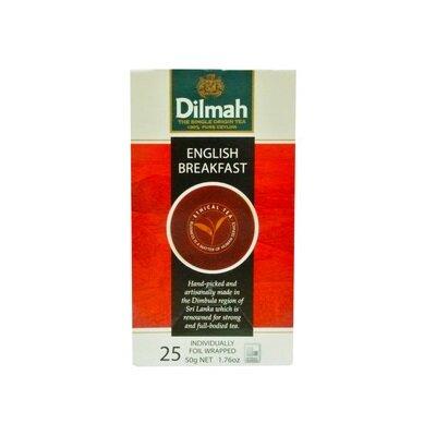 Trà Đen Hộp Giấy English Breakfast Dilmah 2g x 25