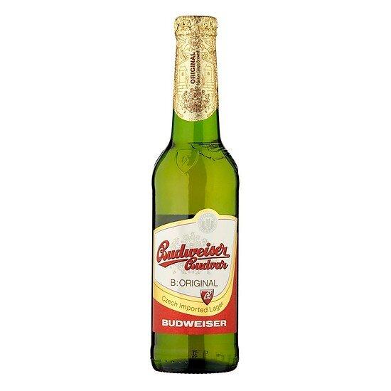 Bia Chai Vàng Budweiser Budvar 330ml
