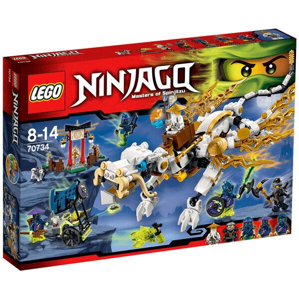 LEGO NINJAGO 70734 SƯ PHỤ RỒNG WU CƯỠI RỒNG