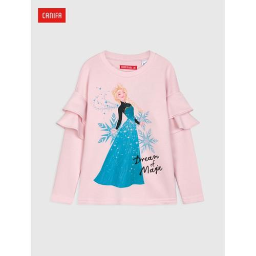 CANIFA - Áo nỉ bé gái in hình Elsa - 1TW18W008