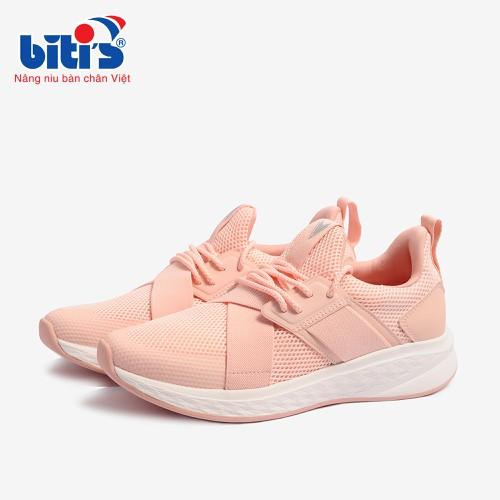 Giày Thể Thao Nữ Bitis Hunter Girls Steps – Pink DSWH01000HOG Hồng - DSWH01000HOG