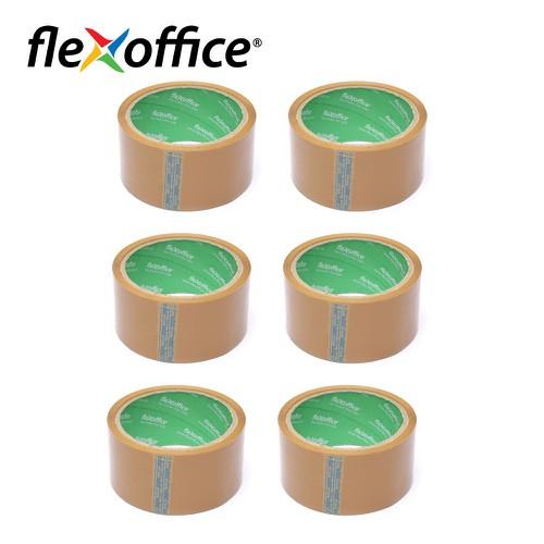 Combo 6 Băng keo đục OPP Flexoffice FO-BKD 04 - 50002076cb