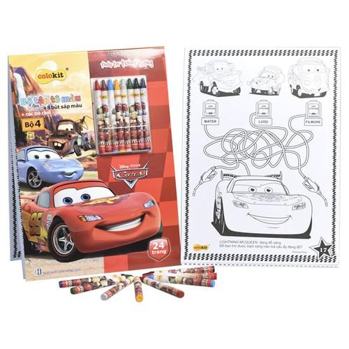 Bộ 2 Tập tô màu Colokit Disney Cars CB-C022CA - 50006847