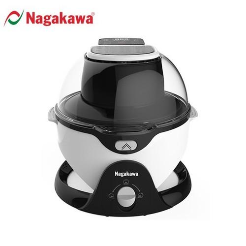 NỒI CHIÊN KHÔNG DẦU 6L- XOAY 360 ĐỘ NAGAKAWA NAG3301 - HÀNG CHÍNH HÃNG
