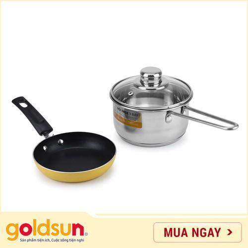 Bộ nồi baby set Goldsun GE16