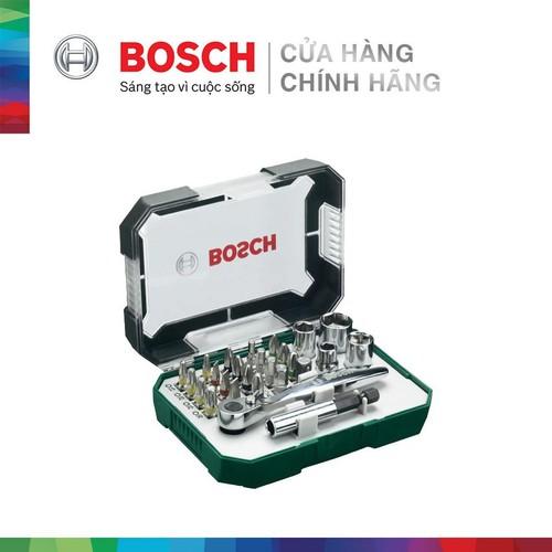 Bộ vặn vít Bosch 26 món 2607017322 - 3165140768207