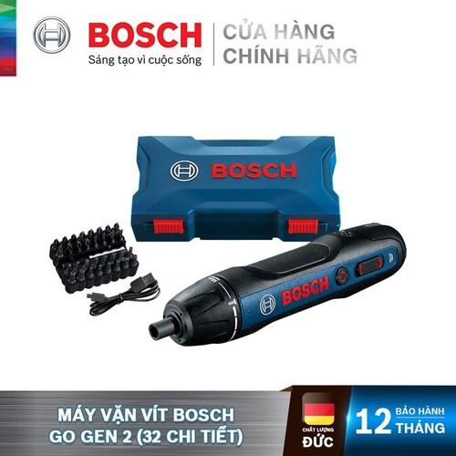 Máy vặn vít Bosch GO Gen 2 - 32 chi tiết - 4059952513768