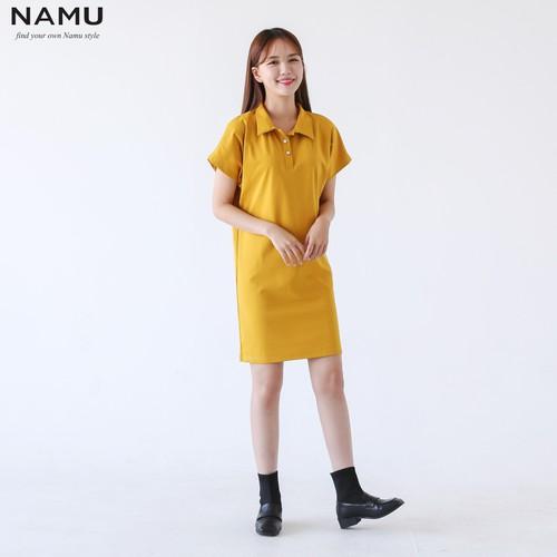 Đầm thun suông cánh dơi form suông hiệu NAMU V09192 - V09192