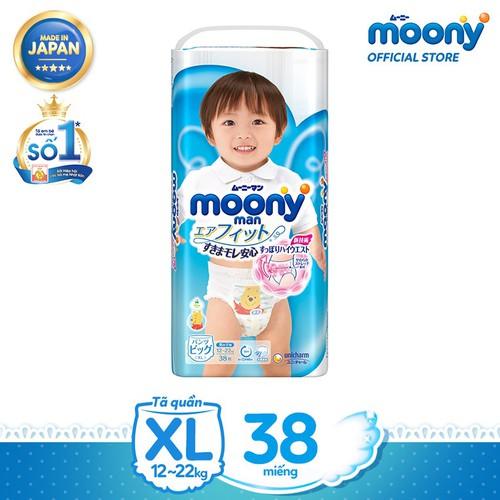 [đủ size] Moony M58 - L44 - XL38 - XXL26