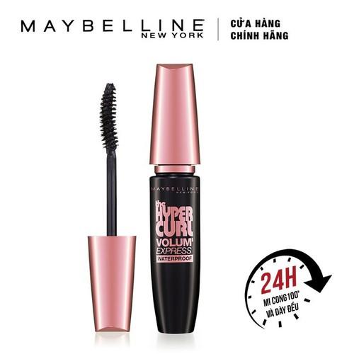 Mascara Làm Cong Mi Maybelline Hyper Curl Đen 9.2ml - 6923492584206
