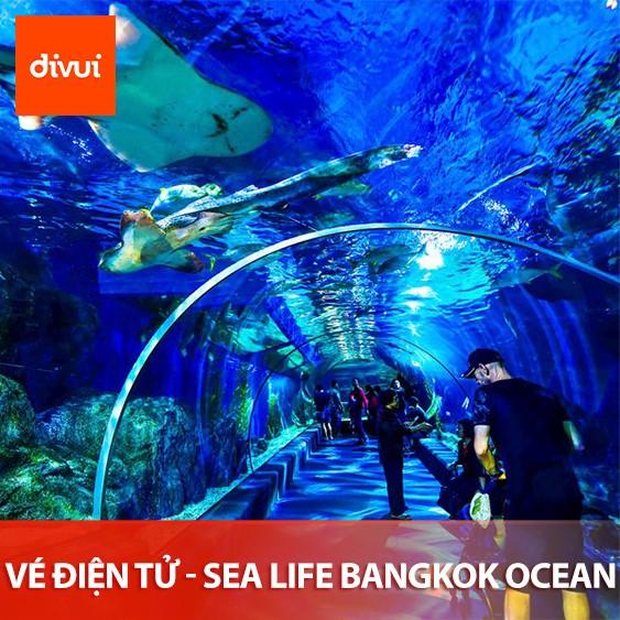 VÉ ĐIỆN TỬ - THỦY CUNG SEA LIFE BANGKOK OCEAN WORLD - SIAM OCEAN WORLD - VÉ NGƯỜI LỚN