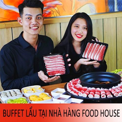 Buffet Lẩu Trên Đĩa Bay Khổng Lồ Độc Nhất Tại Việt Nam Áp Dụng Tại Chuỗi Nhà Hàng Food House
